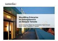 WoodWing Enterprise im Zeitungsbereich am Beispiel Tamedia