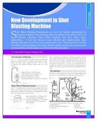new development in shot blasting machine. - Metalworld.co.in