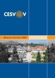 Bilancio Sociale 2005 - Cesvov