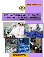 Record of Training and Experience of PRP - Bahagian ...