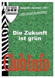 Club Info Ausgabe Sommer 2007 (PDF-Datei, ca 2,70 MB)