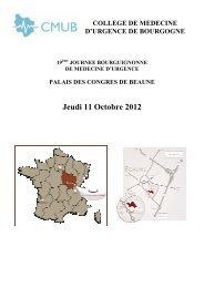 Jeudi 11 Octobre 2012 - CMUB