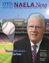 Tom Mullen - National Academy of Elder Law Attorneys