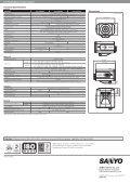 Sanyo Full HD CS-Mount Camera - IRIS CCTV - Page 2