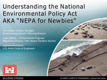 national environmental policy act nepa Text: (a) the national environmental policy act (nepa) is our basic national charter for protection of the environment it establishes policy, sets goals (section 101), and provides means (section 102) for carrying out the policy section 102(2 ) contains ``action-forcing'' provisions to make sure that federal agencies act.