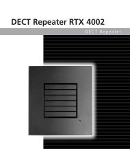 DECT Repeater RTX 4002 - TKR