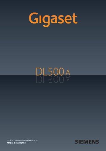 Gigaset DL500A - TKR