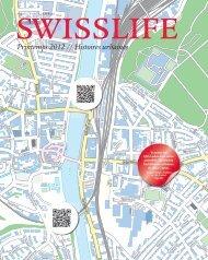 Magazine SWISSLIFE Printemps 2012