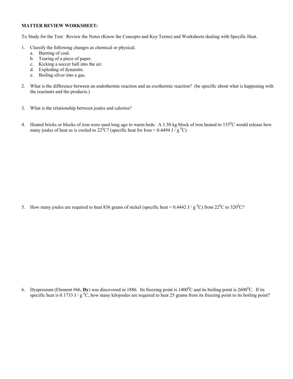 Section 2 1 review composition of matter worksheet