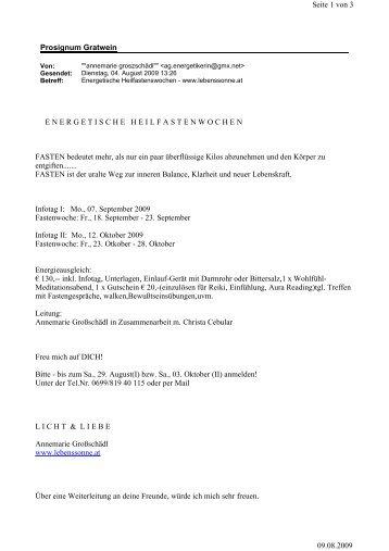 Prosignum Gratwein Seite 1 von 3 09.08.2009 ...