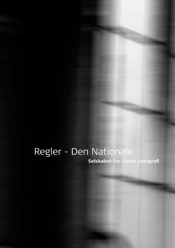 Regler - Den Nationale - Selskabet for Dansk Fotografi