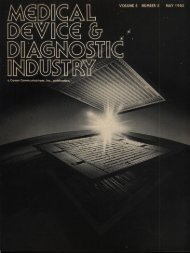 Medical Device & Diagnostic Industry