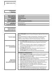 CURRICULUM VITAE Nome/Cognome Laura Piombo Data ... - Inmp