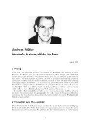 Autor Andreas Müller - Wissenschaft Online