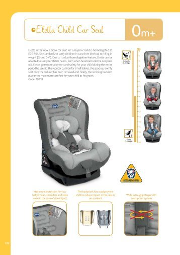 Eletta Child Car Seat - Chicco