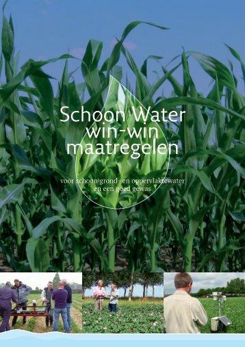 Download de brochure 'Schoon Water win-win-maatregelen' - Clm