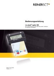 Bedienungsanleitung tanJack optic SX - Mittelbrandenburgische ...