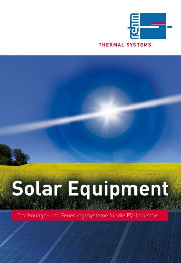 thermal systems - Rehm Group