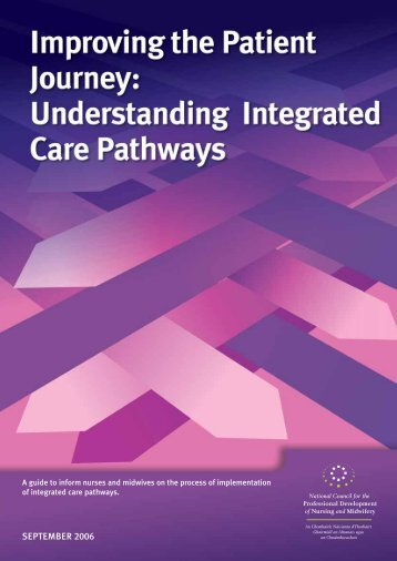 Integrated Care Pathways - PNA