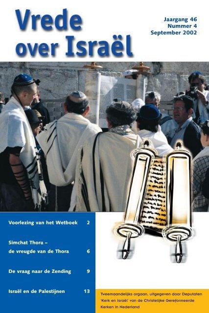 Jaargang 46 Nummer 4 September 2002 - Kerk en Israël