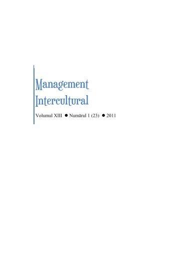 2. Elementele integratoare intre managementul schimbarii si ...
