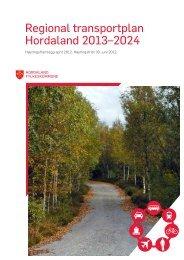 Regional transportplan Hordaland 2013 - 2024, 30.04.12