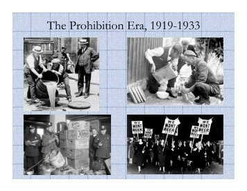 Prohibition Powerpoint - LS Home Page
