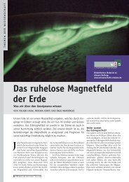 Das ruhelose Magnetfeld der Erde.pdf - GeoForschungsZentrum ...