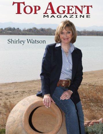Shirley Watson - Top Agent Magazine