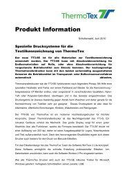 Produkt Information - ThermoTex