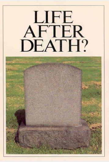 Life After Death? PDF - Church of God Faithful Flock