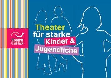Broschüre TPW - Theaterpädagogische Werkstatt