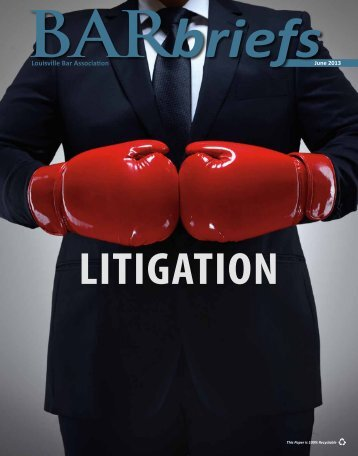Complimentary Issue - Louisville Bar Association