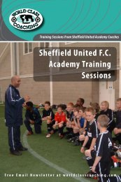 Sheffield United F.C. Academy Training Sessions - Maryland State ...