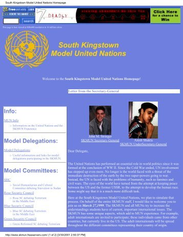 United Nations (pdf) - South County Fun