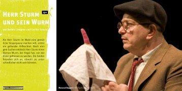 Herr Sturm und sein Wurm - Theater und Orchester Heidelberg