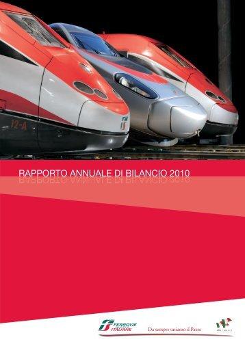 rapporto annuale di bilancio 2010 - Ferrovie dello Stato Italiane