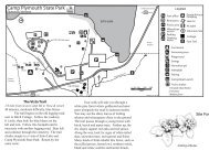 Camp Plymouth State Park Map & Guide - Vermont State Parks