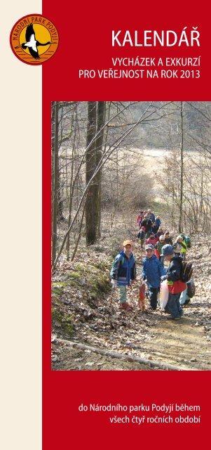 Kalendář vycházek a exkurzí - Národní park Podyjí