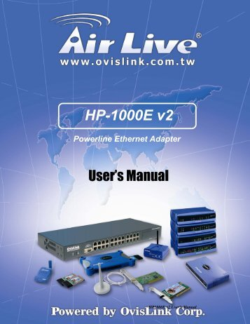HP-1000E v2 - AirLive