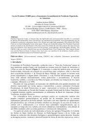 Uso de Produtos CERBS para o Zoneamento Geoambiental ... - OBT