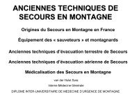 Traumatologie oculaire - Secours-montagne.fr