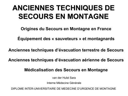 Traumatologie oculaire - Secours-montagne.fr
