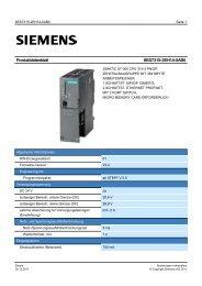 Product data sheet 6ES7315-2EH14-0AB0 - TP Automation eK