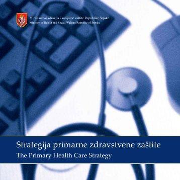 Strategija primarne zdravstvene zaštite