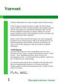 Therapiezentrum Arnum 18 …seit der letzten Ausgabe - Seite 2