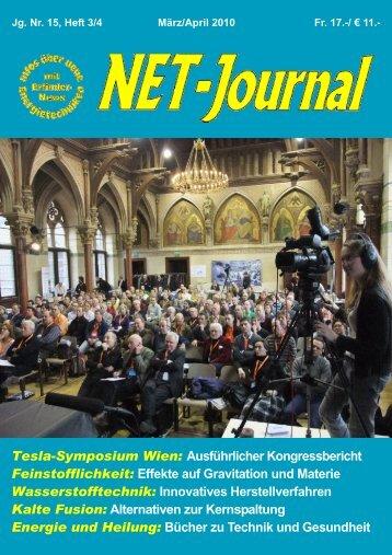 voller Erfolg am Wiener Tesla-Symposium vom 12. - Tesla Society ...