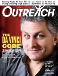 Intrigue THE DA VINCI CODE - Outreach