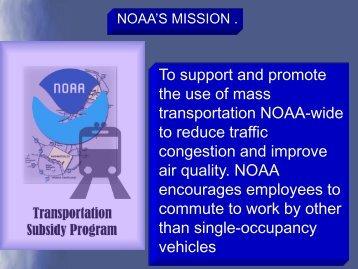 Transit Subsidy Presentation - NOAA