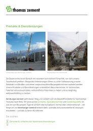 Produkte & Dienstleistungen - Thomas Gruppe
